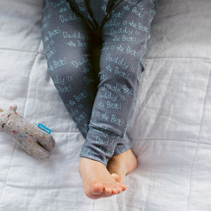'Mummy/Daddy Is The Best' Baby And Toddler Leggings - gifts for babies