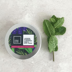 Lavender, Rosemary And Spearmint Hand And Body Cream - new in health & beauty