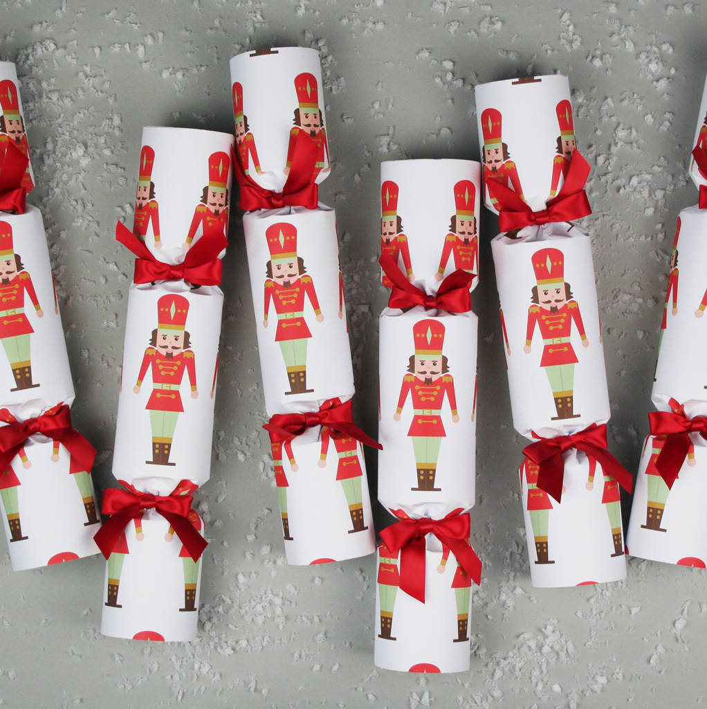 six luxury nutcracker christmas crackers by nancy & betty studio ...