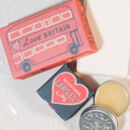 Love Britain Soap Bar And Lip Balm Duo