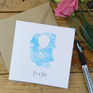 Its A Boy Card