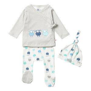 Sheep Three Piece Baby Clothes Set