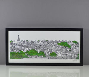 Brighton Bell Vue Print - limited edition art