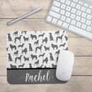 Personalised Dog Print Mouse Mat