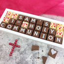 Personalised Chocolates For First Holy Communion