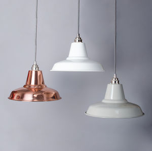 Industrial Pendant Light - pendant lights