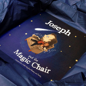 Personalised Children's Book: The Magic Chair - gifts for children