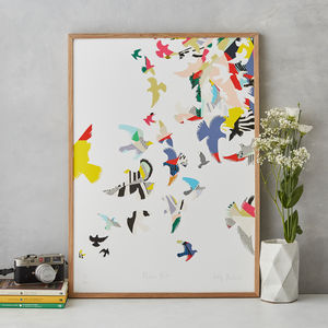Flying Birds Art Print