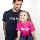 Dad And Me Bear T Shirt Set