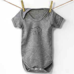 Babygrow Vest, Polar Bear - gifts for babies