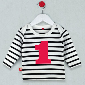 Age One T Shirt For Baby/Toddler - t-shirts & tops