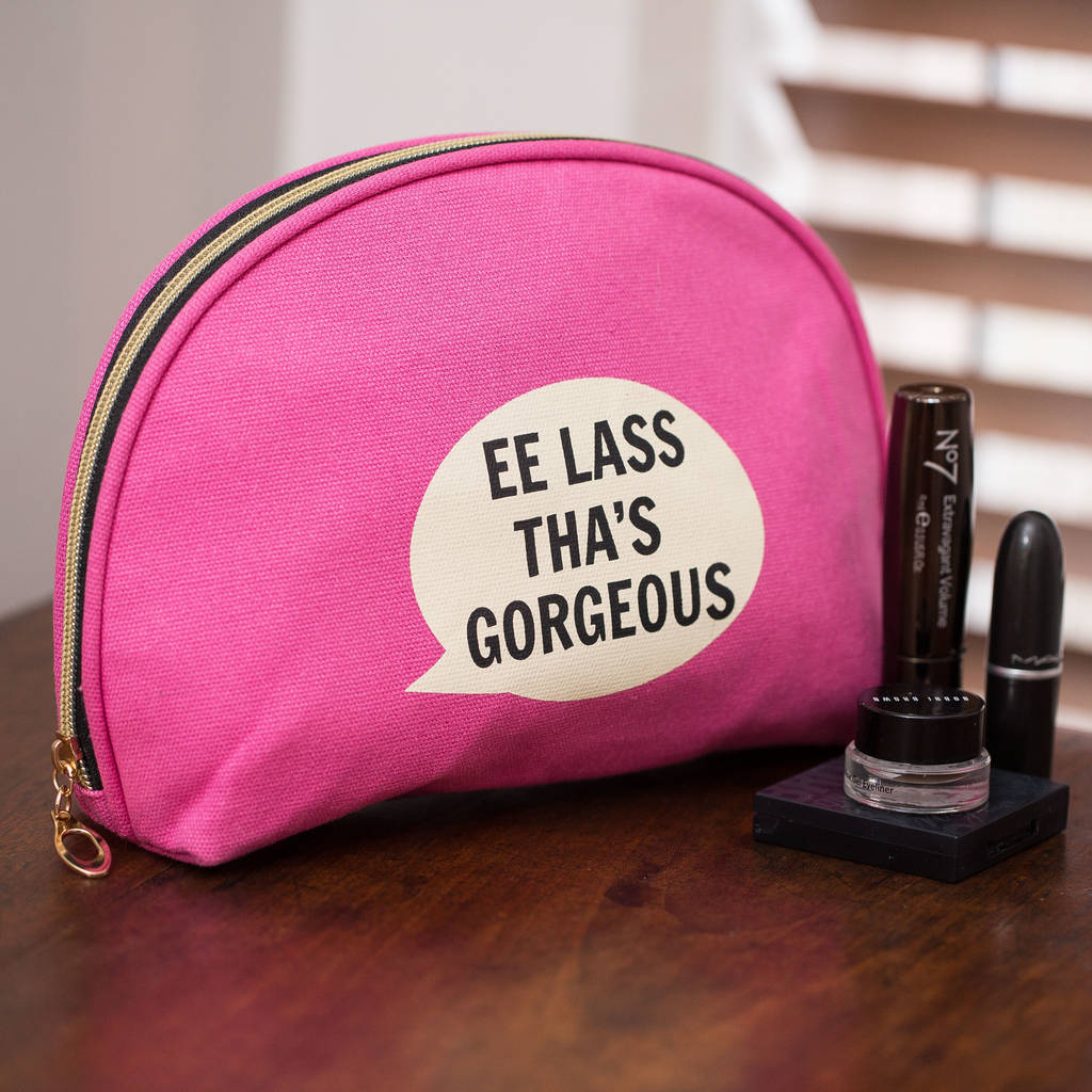'Ee Lass Tha's 'Gorgeous' Cosmetic Bag
