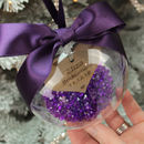 Personalised Bridesmaid Bridal Party Bauble