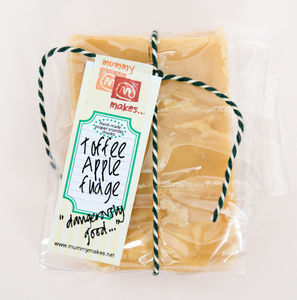 Toffee Apple Fudge