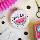 Watermelon Mini Cross Stitch Craft Kit