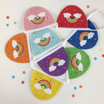 Children's Rainbow Bunting