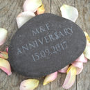 Personalised Engraved Stone Paperweight
