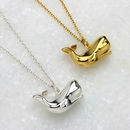 Personalised Whale Necklace