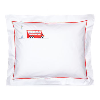 Baby Pillowcase London Bus
