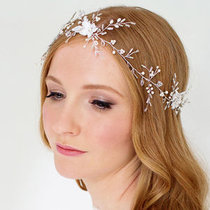 Hermione Ethereal Bridal Hair Vine - wedding fashion
