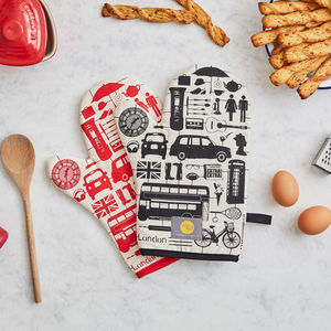 Airfix London Oven Mitt - oven gloves & mitts