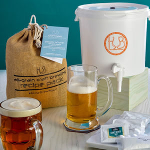 Craft Beer Brewing Starter Kit - gifts for him