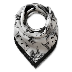 Black White Pcc Scarf