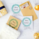10 'Merry Christmas' Money Envelopes