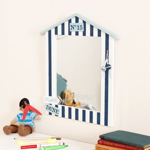 Personalised Children's Room Nautical Wall Mirror