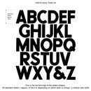 Letter shape examples johny todd ltd tin letters