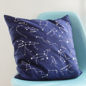 Night Sky Star Constellations Cushion Cover - shop by price