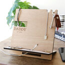 Men's Personalised Wooden Accessory Stand