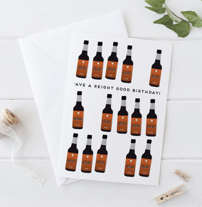 Henderson's Relish Birthday Card - birthday cards