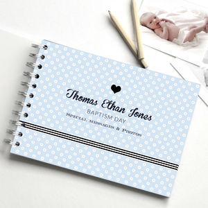 Christening Guest Book - keepsakes