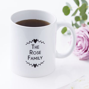Personalised The Family Mug