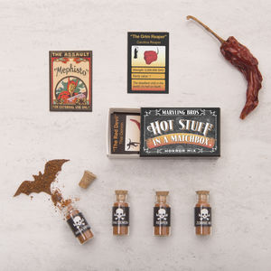 Horror Mix World's Hottest Chilli Powders In A Matchbox