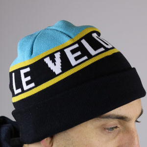 'Le Velo' Knitted Beanie - hats, scarves & gloves