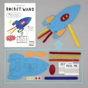 Make Your Own Rocket Wand Kit - for children