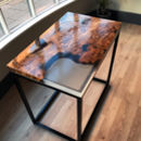Glacier Resin Side Table