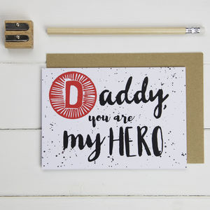 Father's Day Daddy Card