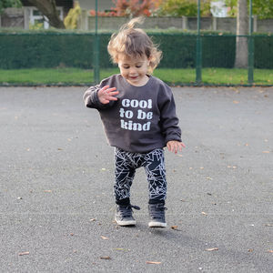 Cool To Be Kind Kids Printed Jumper - clothing