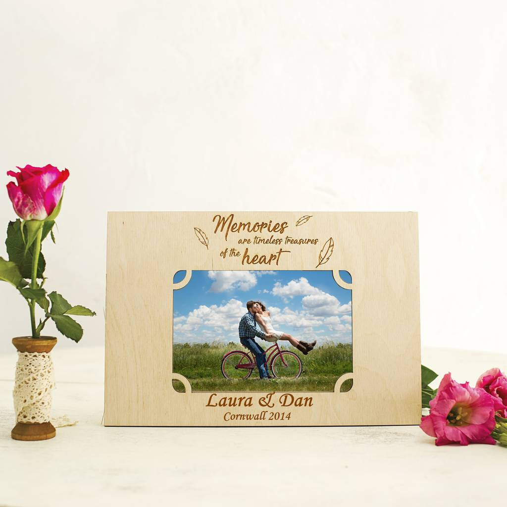 Timeless Memories Personalised Photo Frame