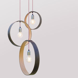 Oak Pendant Set - home picks with free mainland uk delivery