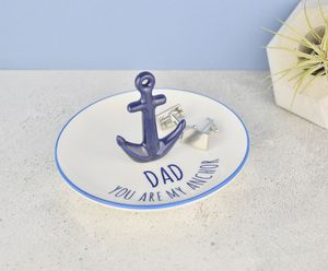 Dad Anchor Desk Tidy Or Jewellery Box - storage