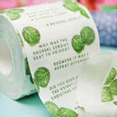 Christmas Sprout Novelty Toilet Roll