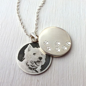 Personalised Pet Locket Pendant - pet-lover