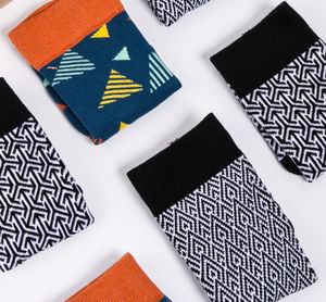 Monochrome Sock Gift Box