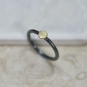 Gold And Silver 'Sun' Ring - rings