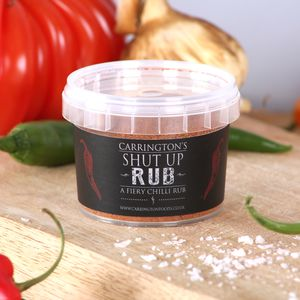 Very Hot Naga Chilli Marinade Rub Gift - sauces & seasonings