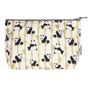 Panda And Bamboo Large Make Up Bag